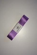 Double Satin Ribbon 25mm x 3mtr Soft Lilac
