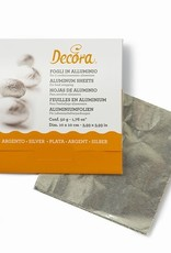 Decora Decora Foil Wrappers Silver pk/150