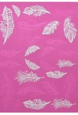 Claire Bowman Claire Bowman 3D Large Cake Lace Mat Feathers