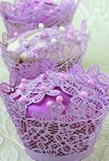 Clair Bowman Claire Bowman 3D Lace Mat  Victoriana Cupcake Wrapper