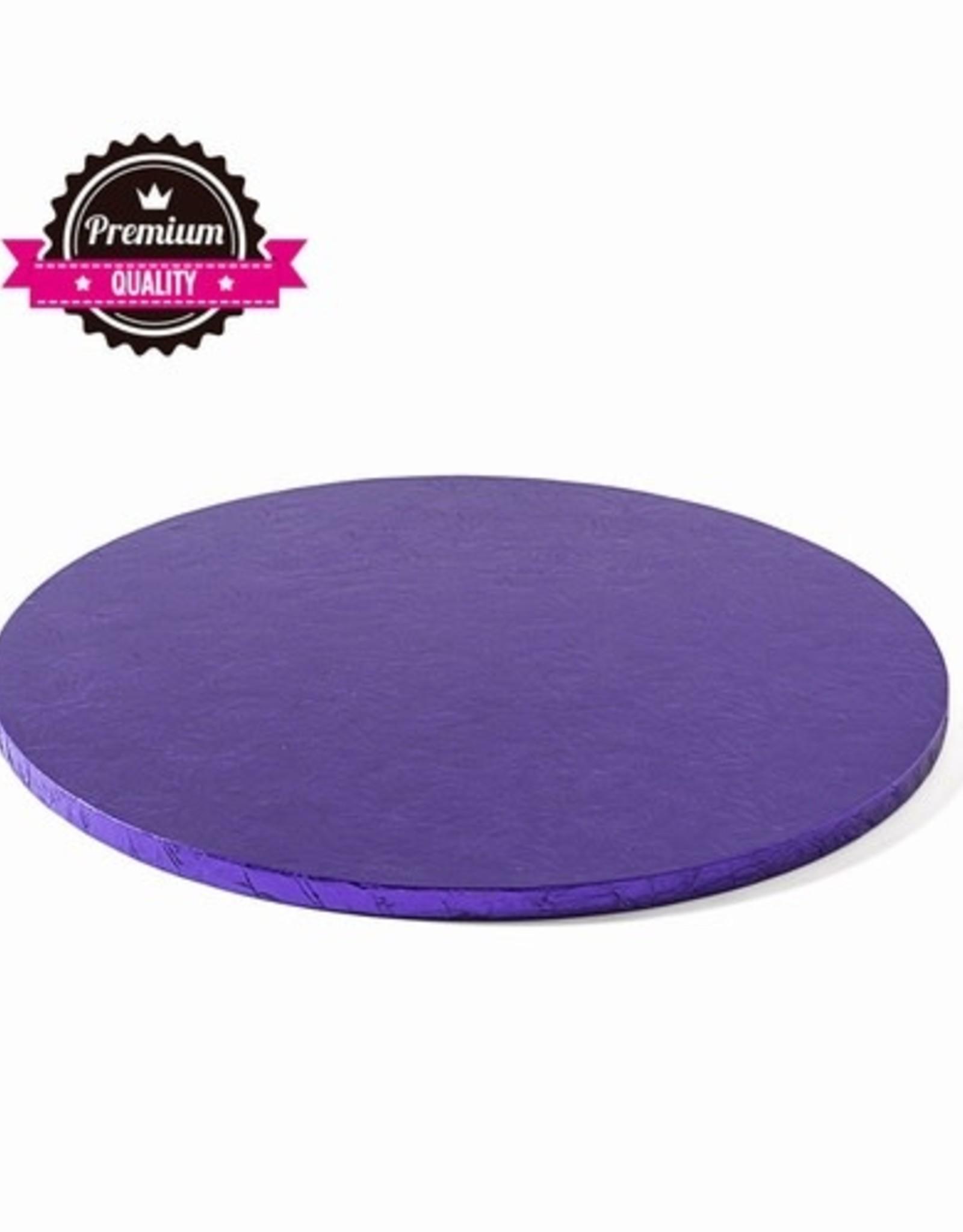 Cake Drum Rond Ø30,5cm Violet