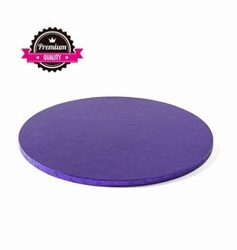 Decora Cake Drum Rond Ø30,5cm Violet