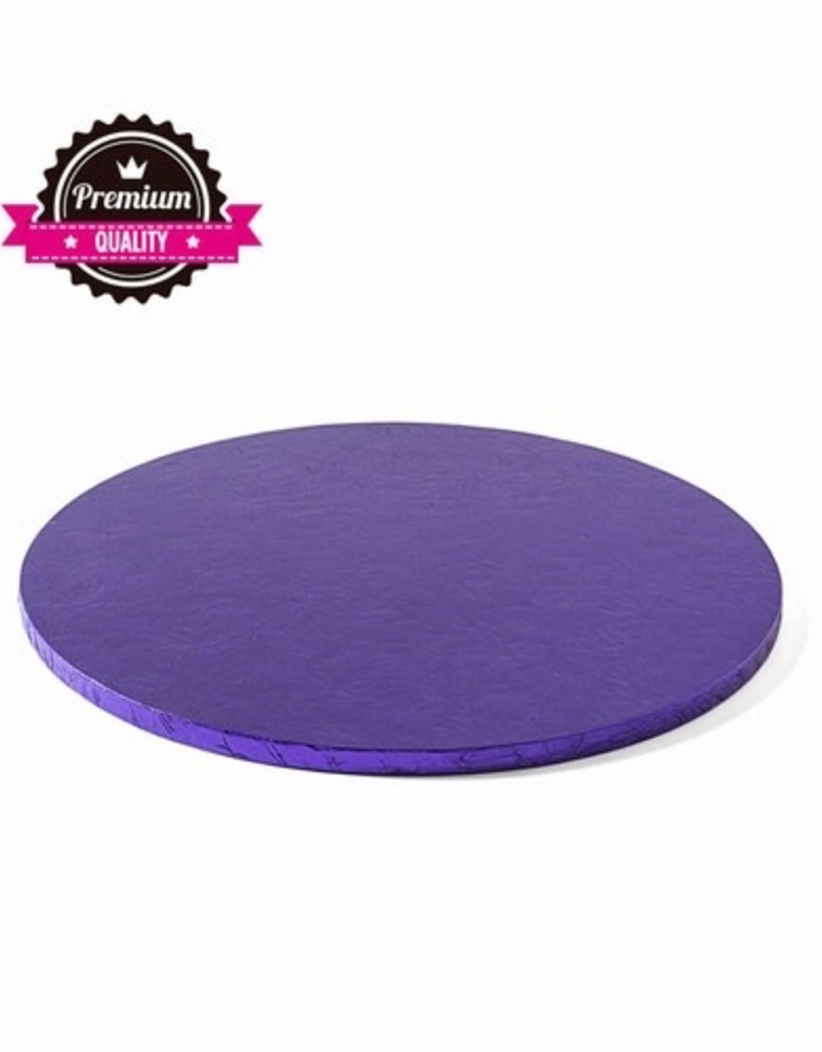 Cake Drum Rond Ø25cm Violet
