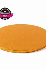 Cake Drum Rond Ø40cm Orange