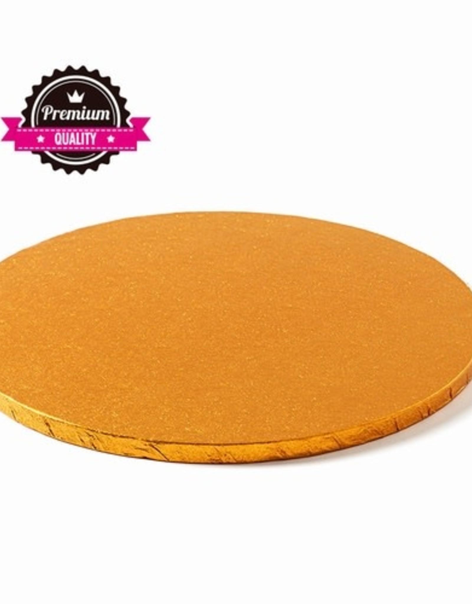 Decora Cake Drum Rond Ø40cm Orange