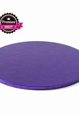 Cake Drum Rond Ø40cm Violet