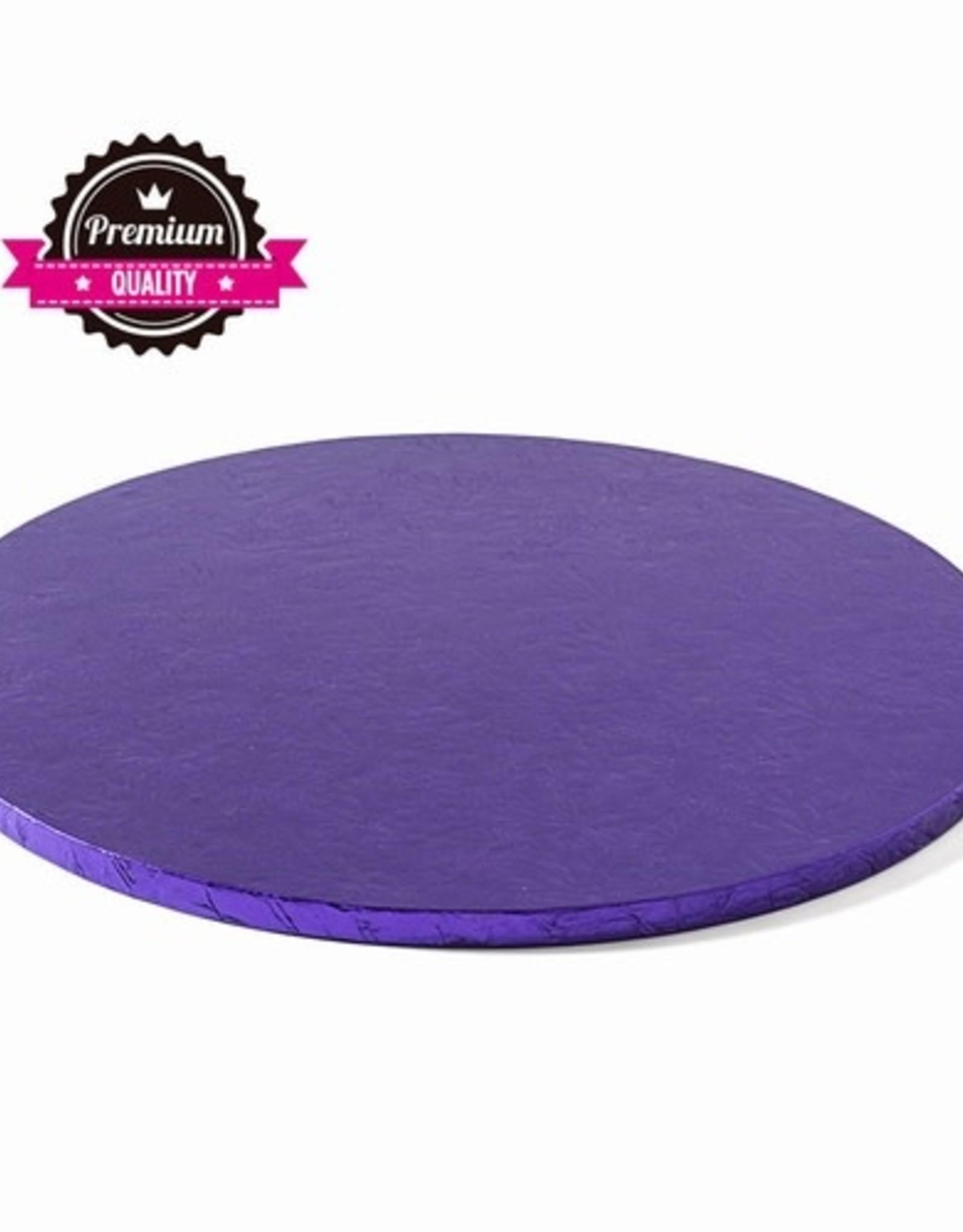 Decora Cake Drum Rond Ø40cm Violet
