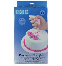 PME PME Parchment Triangles Pk/50