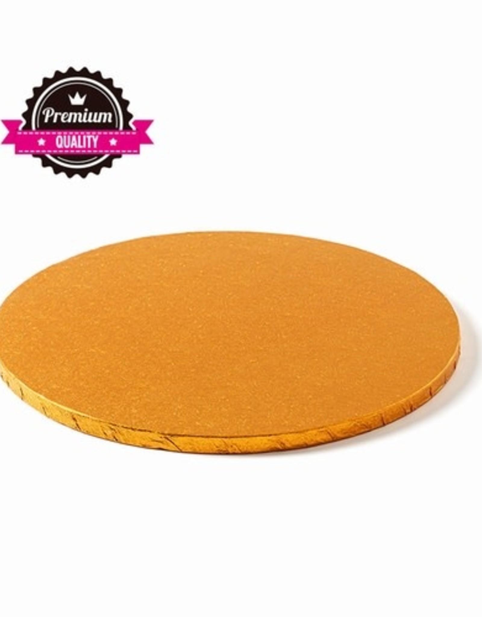 Cake Drum Rond Ø30,5cm Oranje