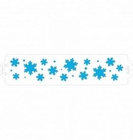 Decora Stencil 7x30cm Frozen Star