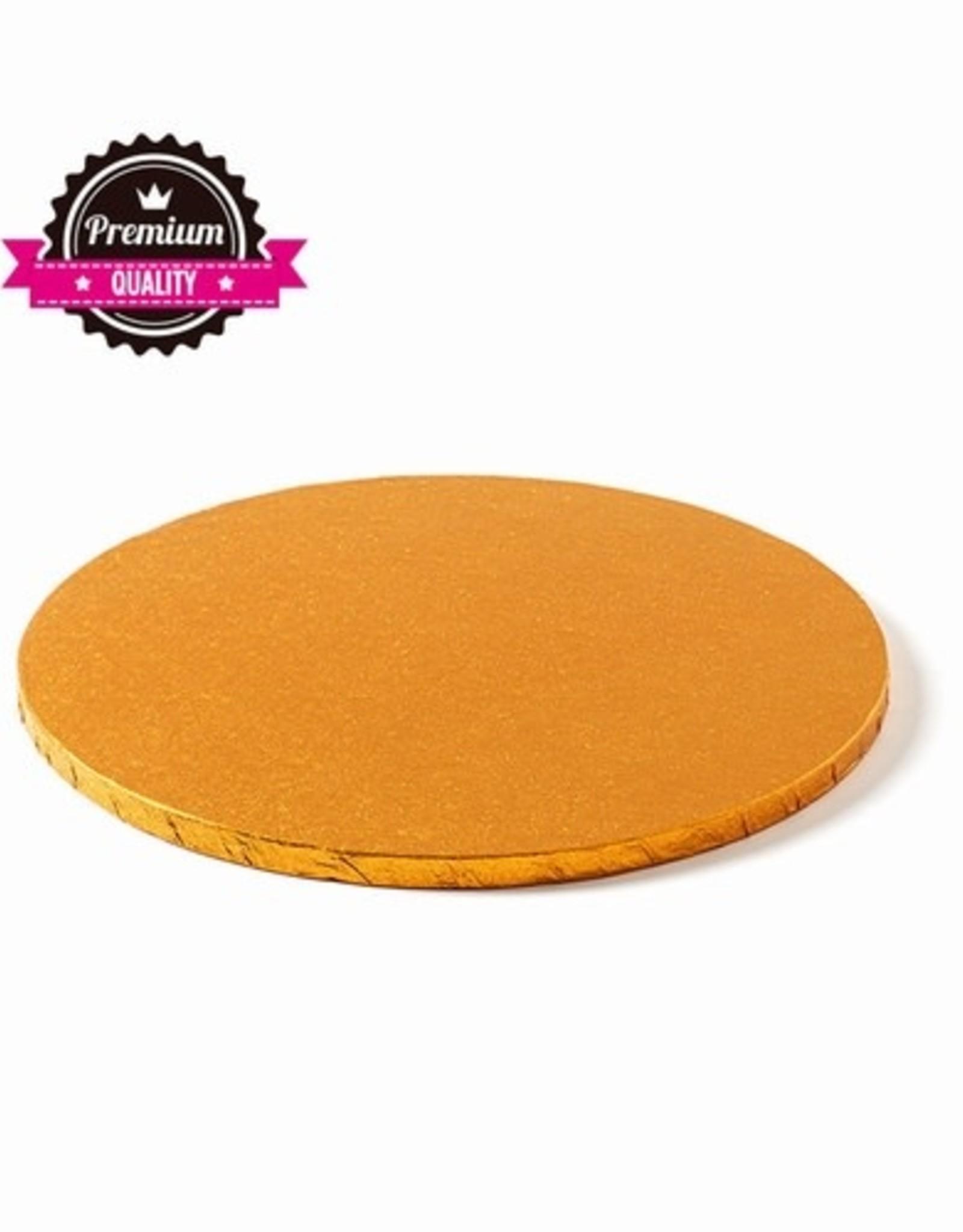 Cake Drum Rond Ø25cm Oranje