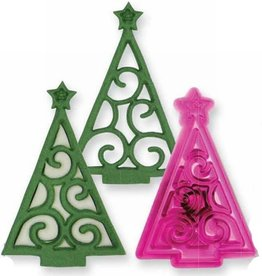 JEM JEM Christmas Scroll Tree Cutter