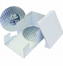 PME PME Cake Box & Round Cake Board (12mm) 25x25x15 cm