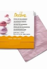 Decora Decora Foil Wrappers Pink pk/150
