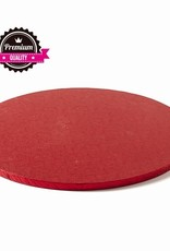 Cake Drum Rond Ø40cm Red