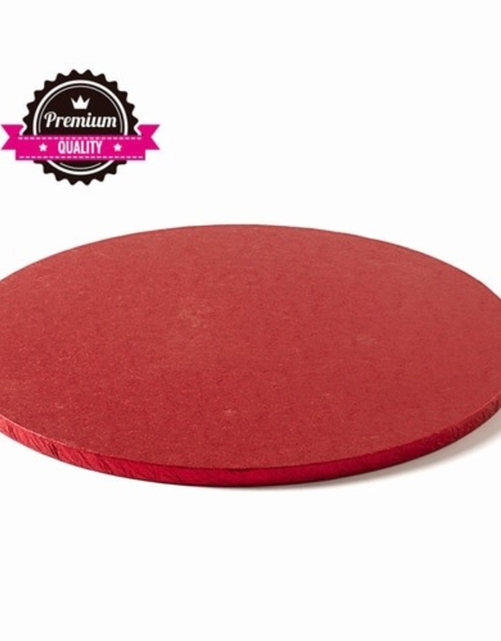 Decora Cake Drum Rond Ø40cm Red