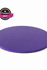 Cake Drum Rond Ø35cm Violet