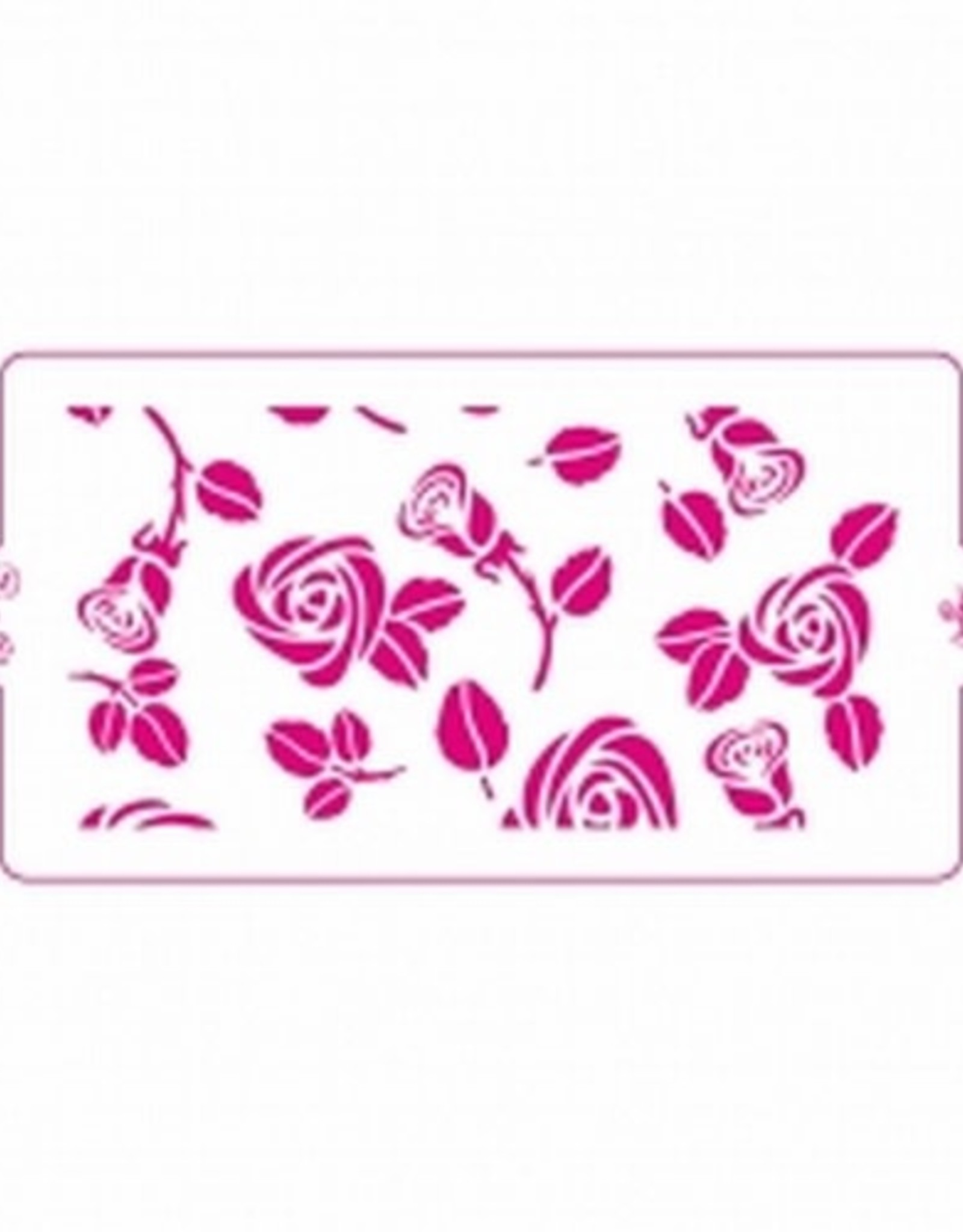Decora Decora Stencil 15x30cm Rose