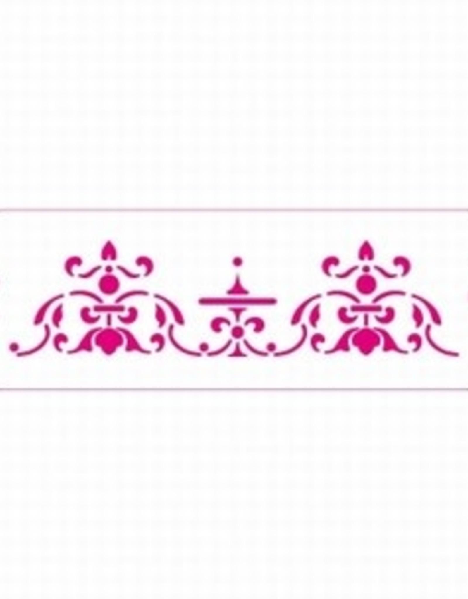 Decora Decora Stencil 10x30cm Persia