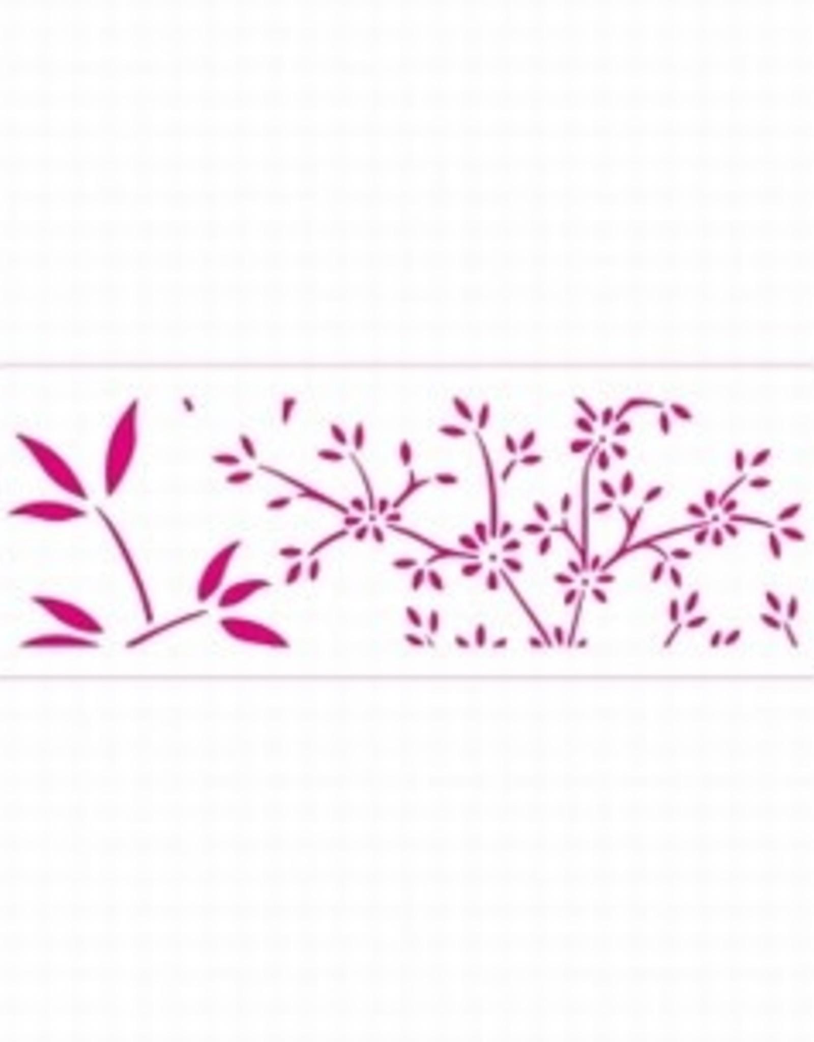 Decora Decora Stencil 10x30cm Nature