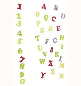 FMM FMM Alphabet & Numbers Tappits Art Deco Upper Case
