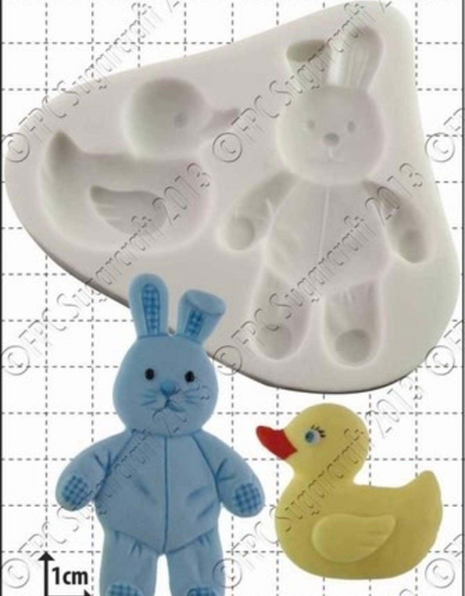 FPC FPC Duck and Bunny/ Eend en Konijntje