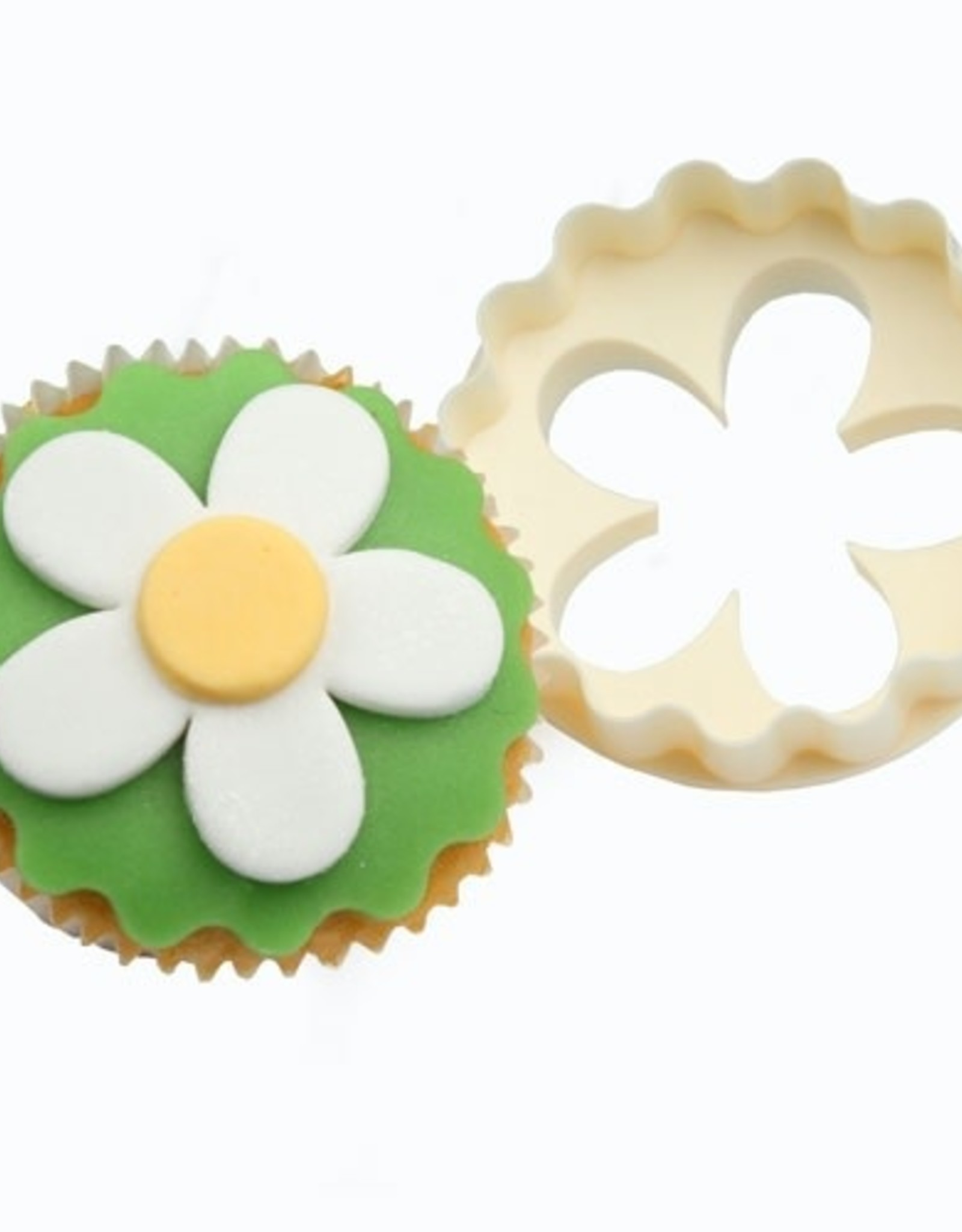 FMM FMM Double Sided Cupcake Cutter Blossom/Scallop