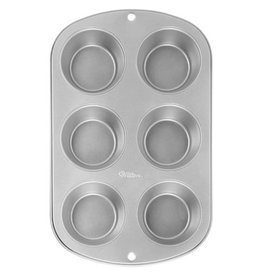 Wilton Recipe Right® 6 Cup Muffin Pan