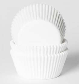 House of Marie House of Marie Baking Cups Wit - pk/500