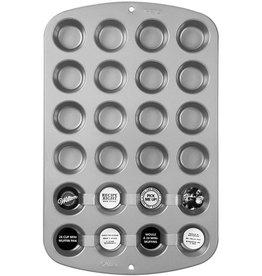 Wilton Recipe Right® 24 Cup Mini Muffin Pan
