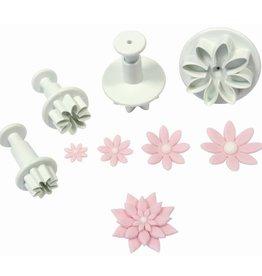 PME Daisy Marguerite plunger cutter set/4