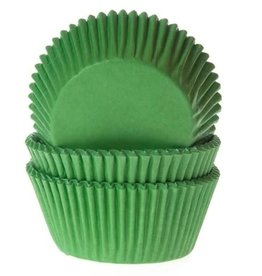 House of Marie House of Marie Baking Cups Gras Groen - pk/50
