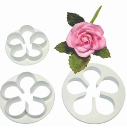 PME PME 5 Petal Cutter Set/3 LARGE