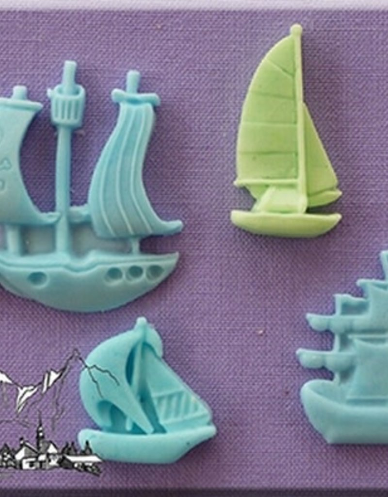 Alphabet Moulds Ships and Boats