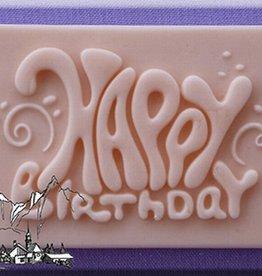 Alphabet Moulds Alphabet Moulds Happy Birthday Plaque