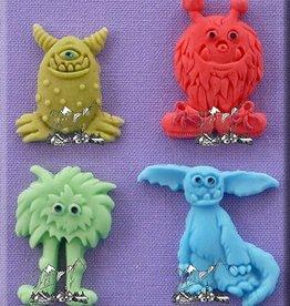 Alphabet Moulds Alphabet Moulds Little Monsters