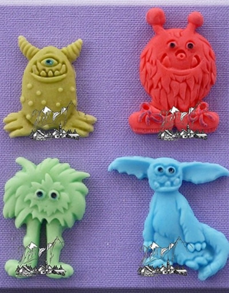 Alphabet Moulds Little Monsters