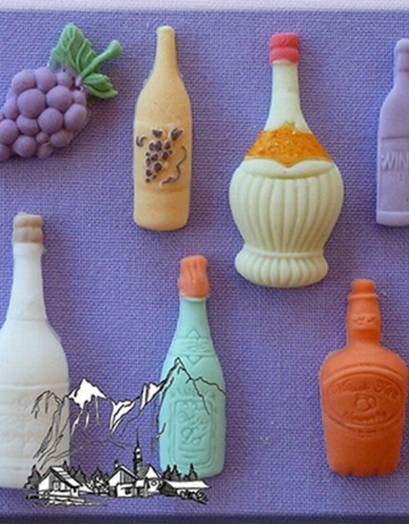 Alphabet Moulds Assorted Bottles