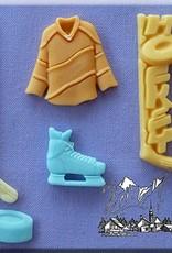 Alphabet Moulds Alphabet Moulds Ice Hockey