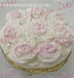 Karen Davies Karen Davies Cupcake Top mould - Piped Roses