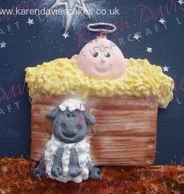 Karen Davies Karen Davies Siliconen Mould - Away in a manger