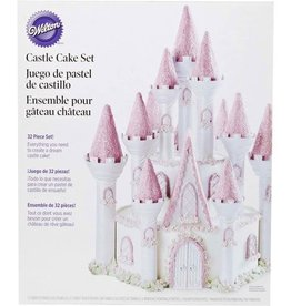 Wilton Wilton Romantic Castle Cake set