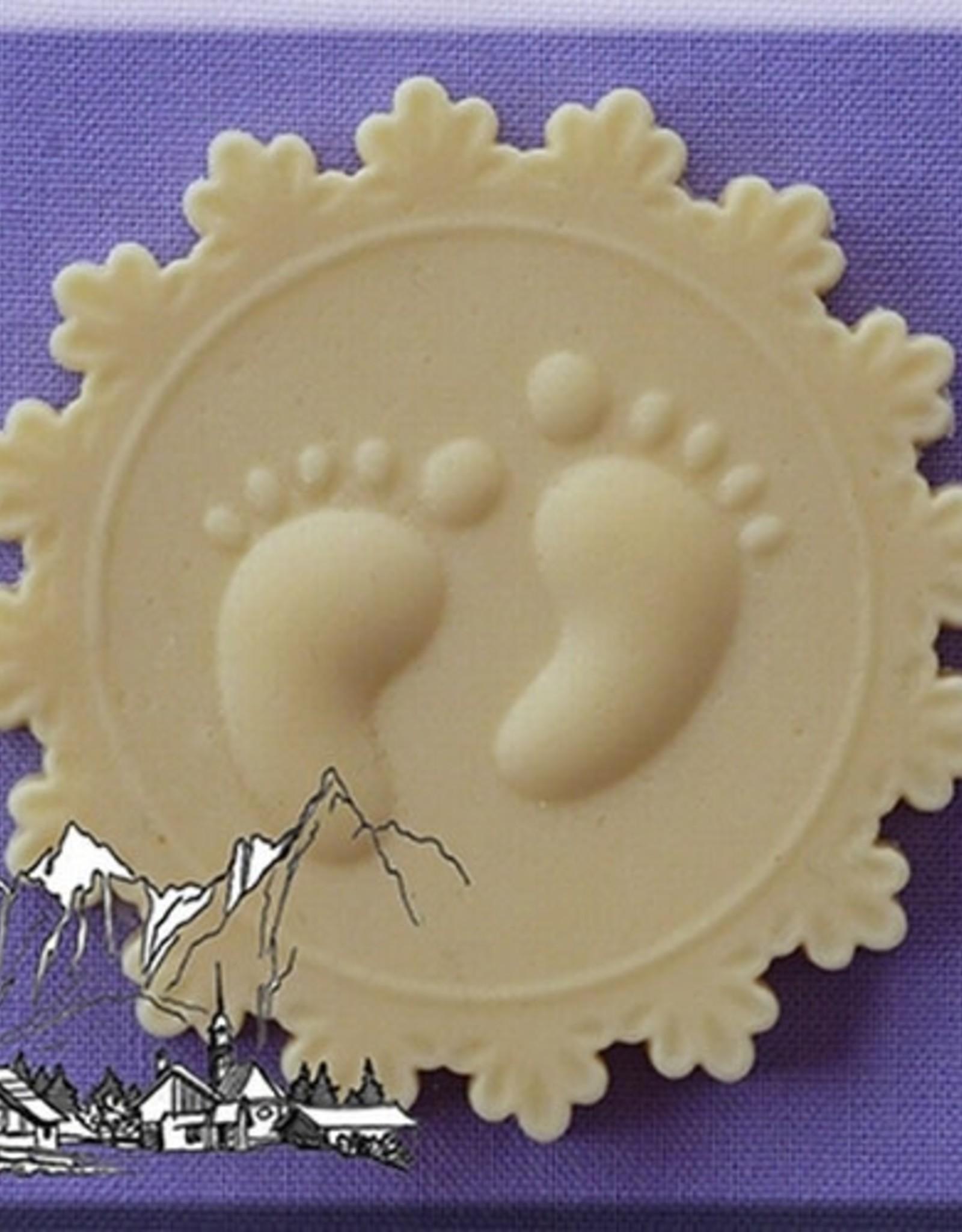 Alphabet Moulds Alphabet Moulds Baby Feet Cupcake Topper
