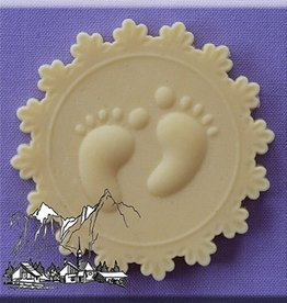 Alphabet Moulds Alphabet Moulds Baby Feet Cupcake Topper