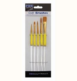 PME PME Craft Brush Set/5