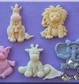 Alphabet Moulds Alphabet Moulds Baby Animals