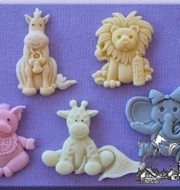 Alphabet Moulds Baby Animals
