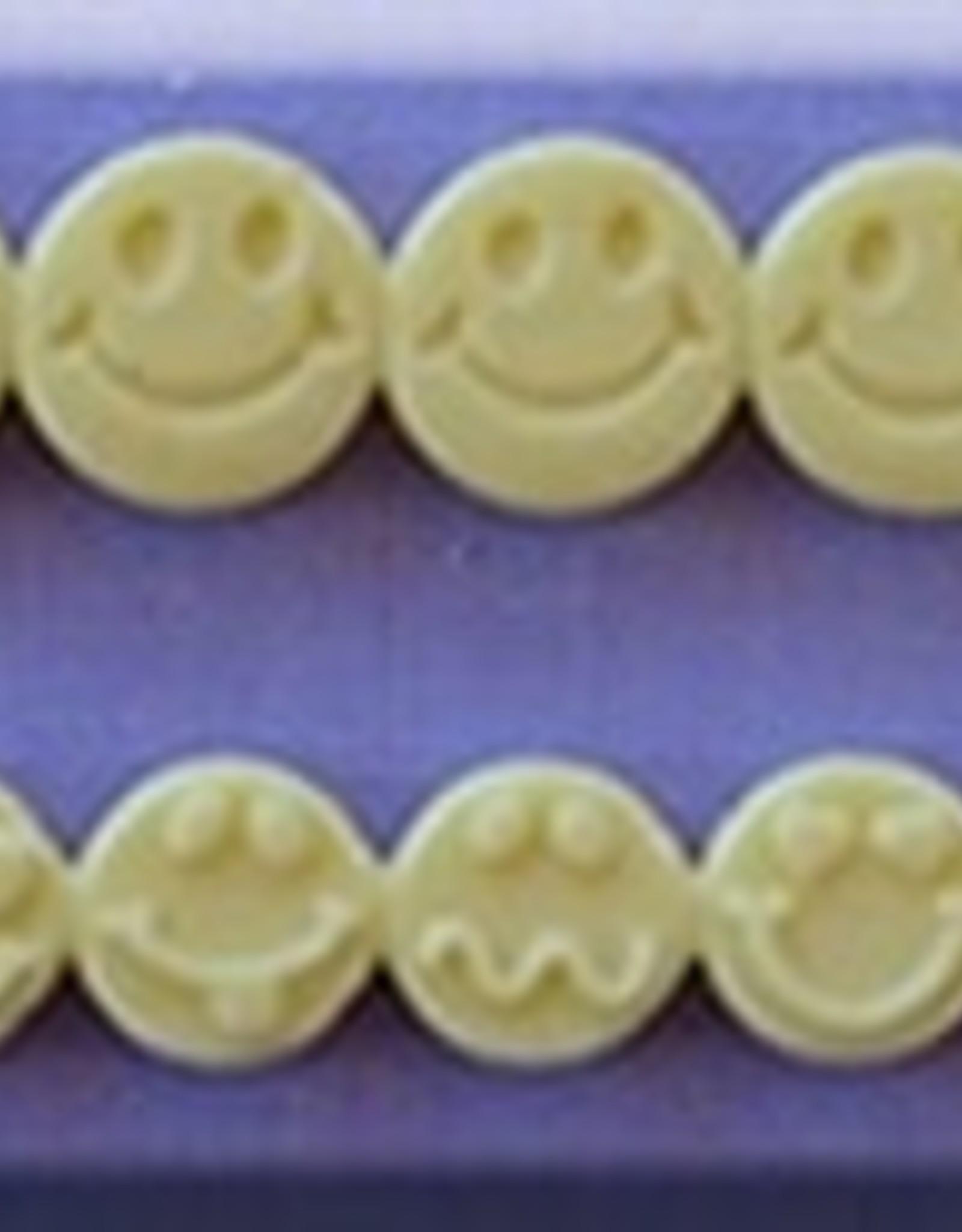 Alphabet Moulds Alphabet Moulds Smiley  Faces, double row