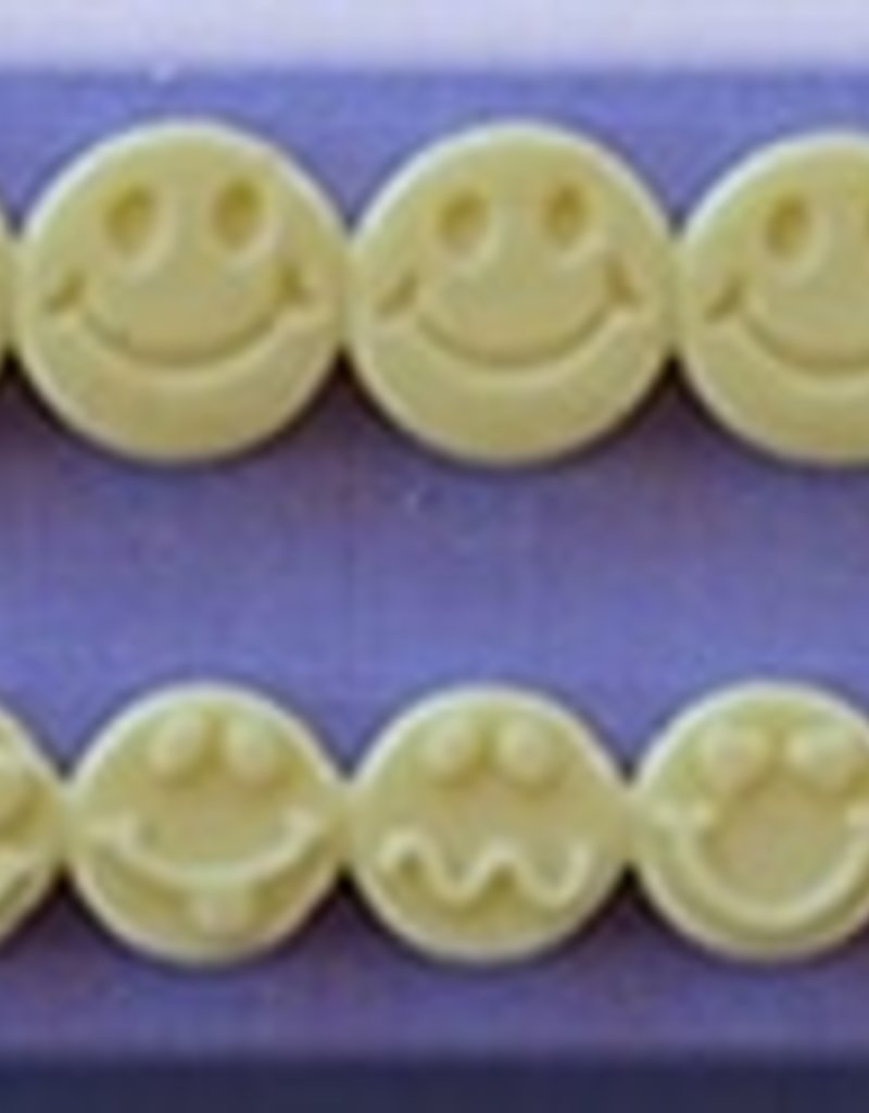 Alphabet Moulds Smiley  Faces, double row