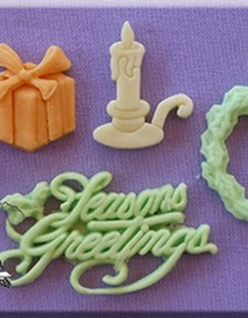 Alphabet Moulds Seasons Greetings